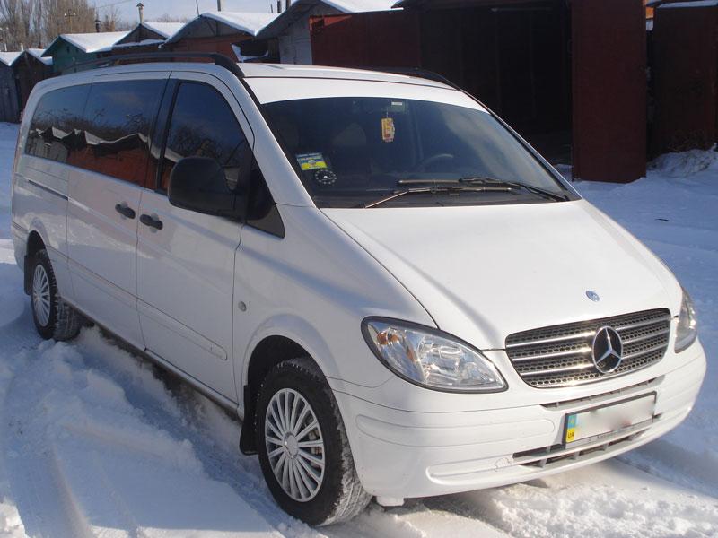 Микроавтобус Mercedes-Benz Vito 8 мест