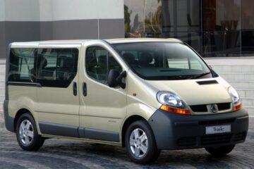 Renault Trafic Киев-Луганск